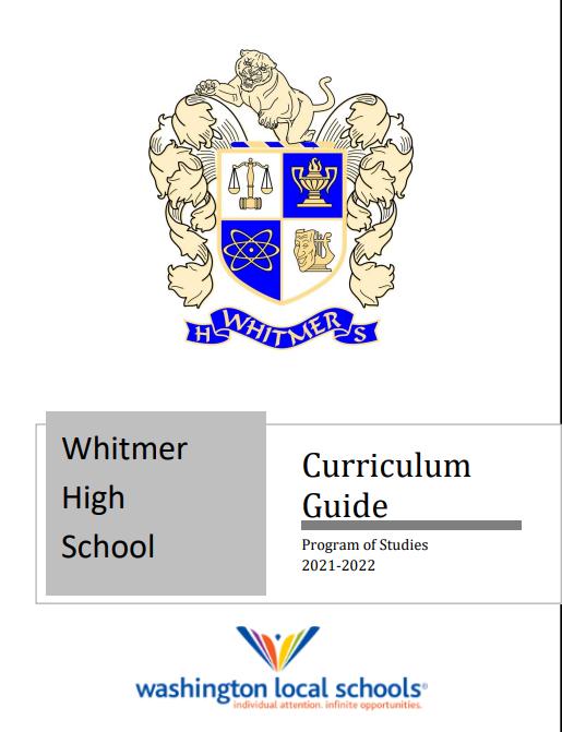 Whitmer High School Curriculum Guide 21-22