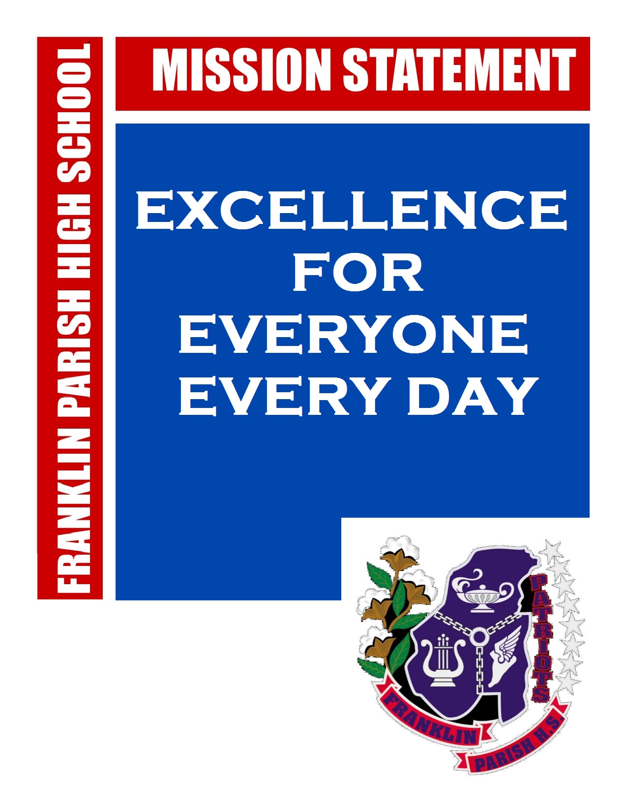 Franklin Parish High School Mission Statement Excellence for Everyone Every Day