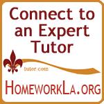 Connect to an Expert Tutor tutor.com HomeworkLA.org