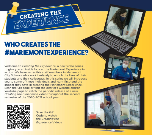 Creating the Experience QR Code