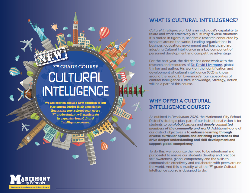 cultural intelligence course explanation