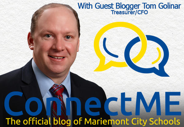 ConnectME Blog logo with Tom Golinar