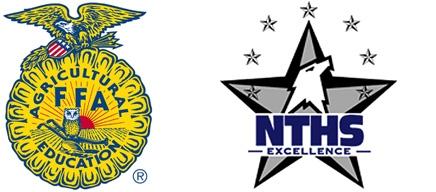 FFA logo and NTHS logo