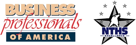 Business Professionals of America logo and NTHS logo