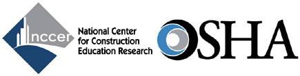 NCCER logo and OSHA logo