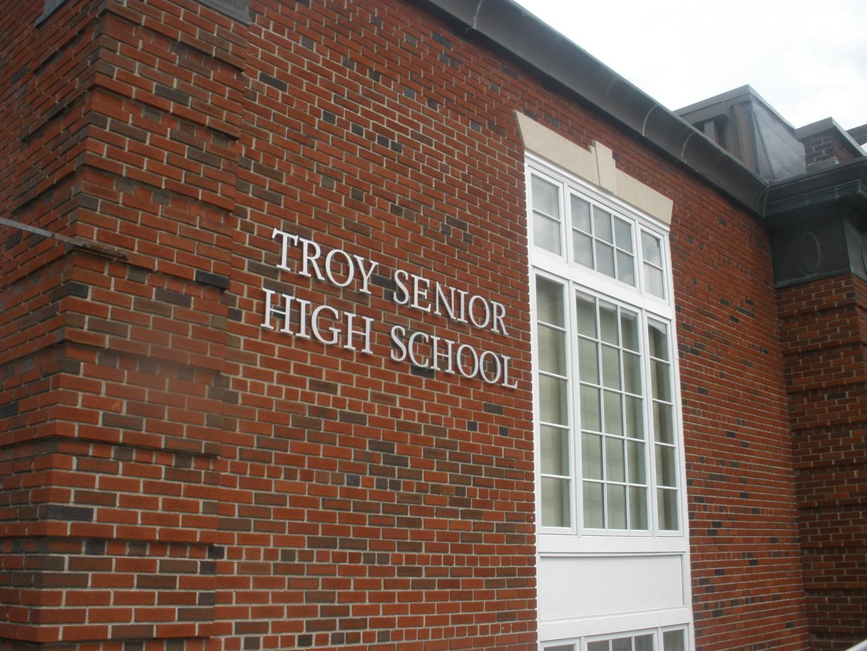 Troy Senior High School building
