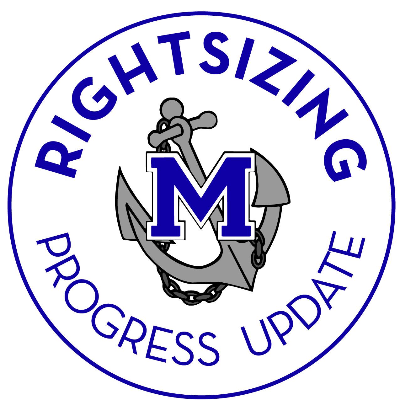 Photo of Rightsizing Progress Update