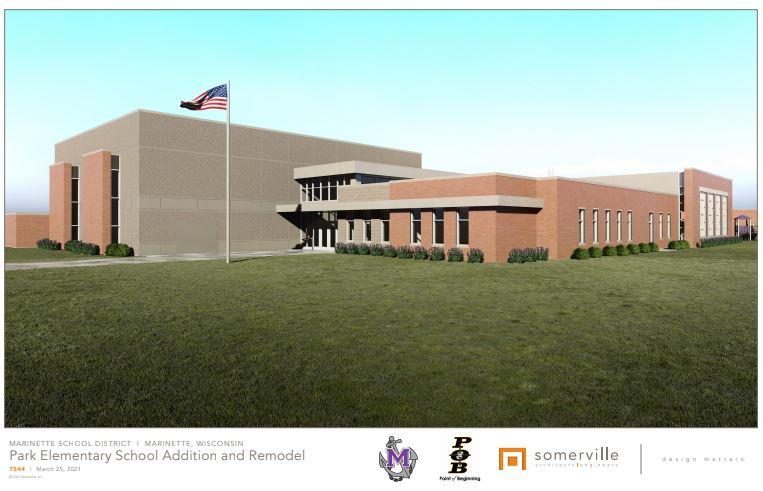 Photo Of Intermediate School Exterior Rendering
