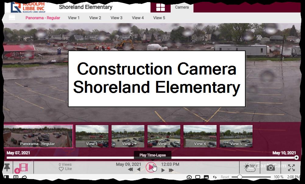 Construction Camera - Shoreland