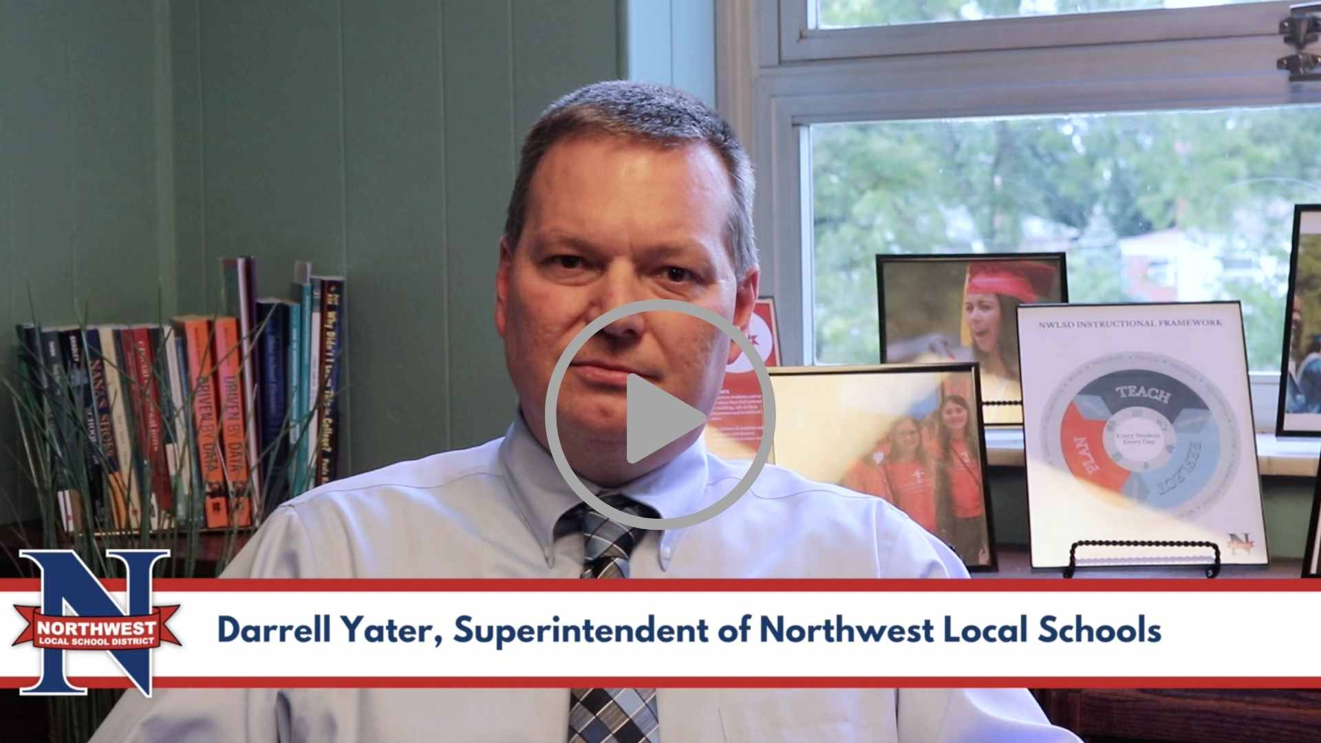 Northwest Local School District, Darrell Yater,  Superintendent of Northwest Local Schools