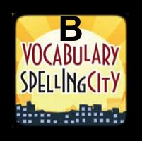 Spelling City B Logo