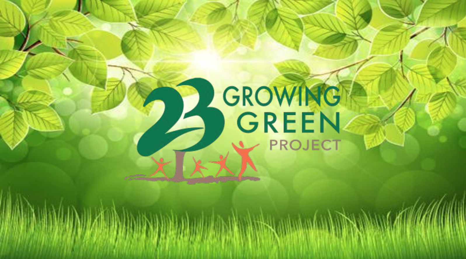 Growing Green Project Presentation Cover Page