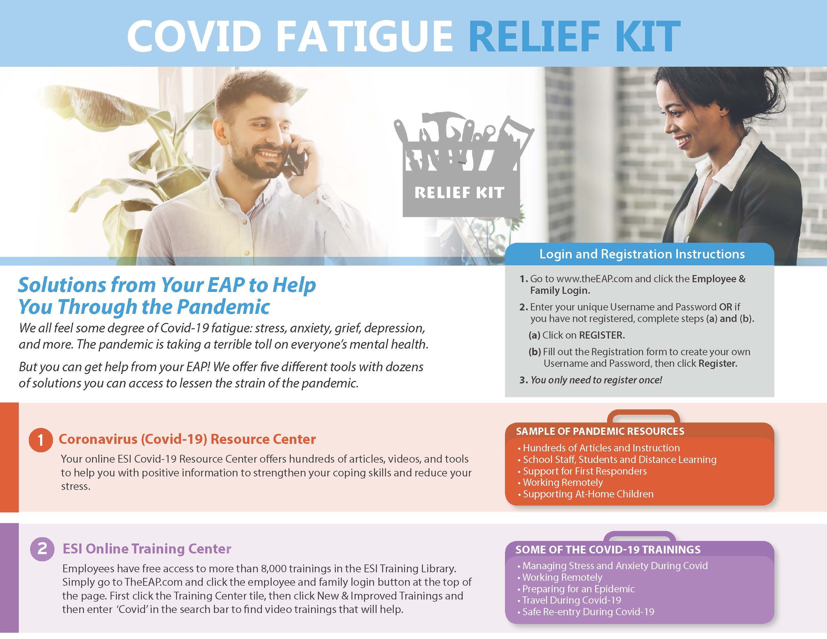 COVID Fatigue Relief Kit